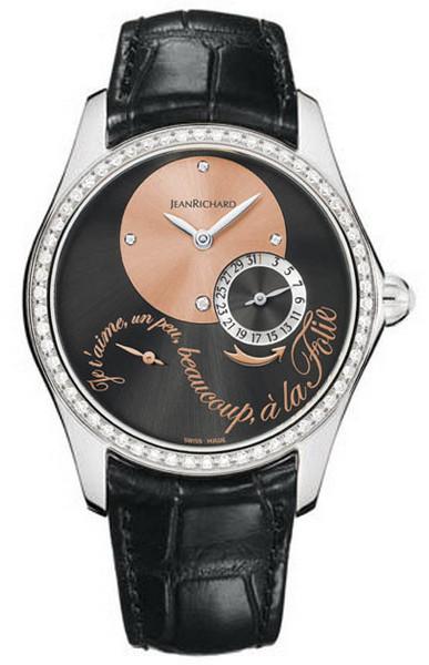 Женские часы JeanRichard 64143-D11-A61B-AA6D