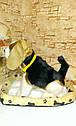 🐶 Интерактивная собачка с датчиком движения на коврике живая: супер ПОДАРОК ребенку, фото 7