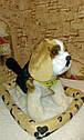 🐶 Интерактивная собачка с датчиком движения на коврике живая: супер ПОДАРОК ребенку, фото 5