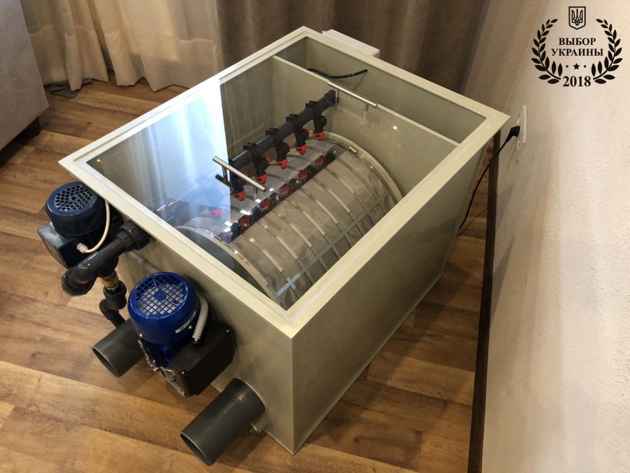 Барабанный фильтр AVA PF-50 | 50 м3 (ПП)