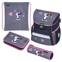 Ранец Herlitz Loop Plus Sweety Панда 4 предмета 50020492 ортопедический рюкзак с наполнением для школьников