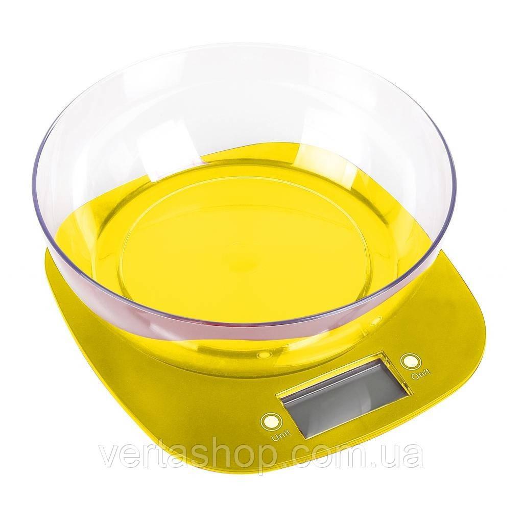 Кухонные весы MAGIO MG-290 желтые