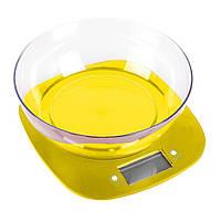 Кухонные весы MAGIO MG-290 желтые, фото 1