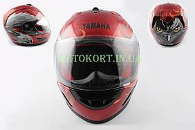 Шлем-интеграл   (mod:HAWK) (size:ХXL, красный) Ш4   YMH