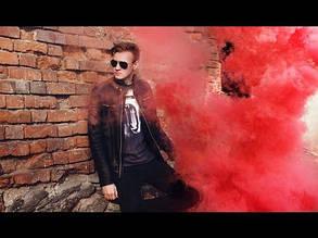 Цветной дым, КРАСНЫЙ 60с , фото 2