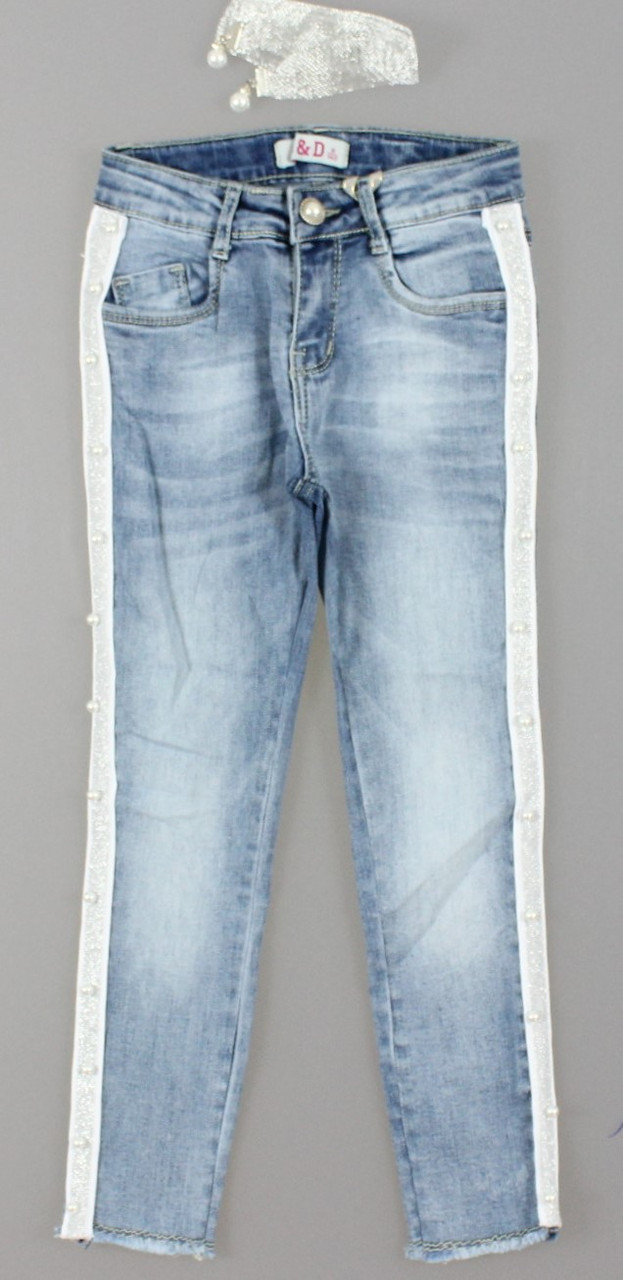 {есть:16 лет} Джинсовые брюки для девочек S&D, Артикул: DT069 [16 лет]