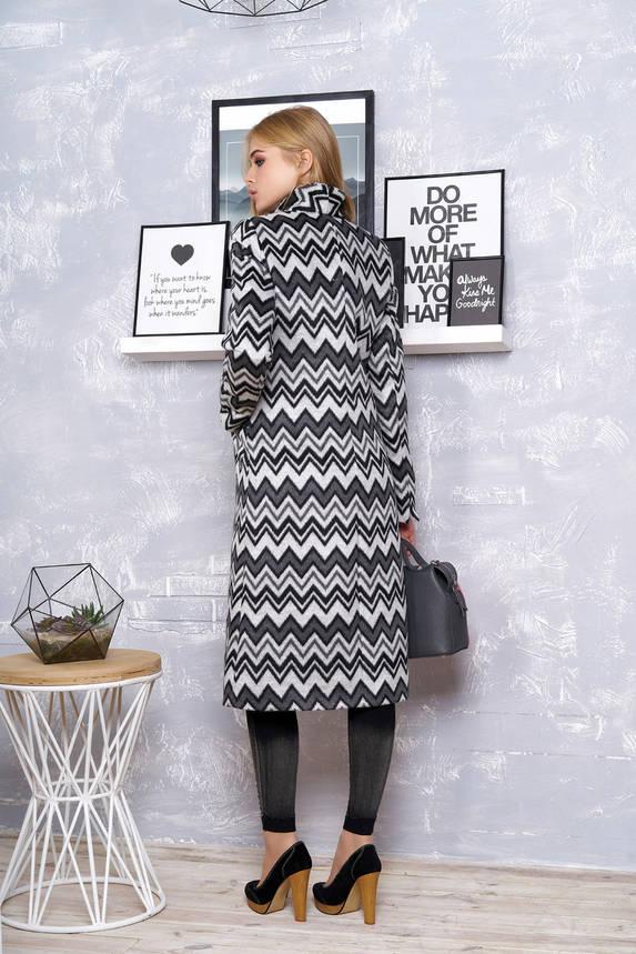 Классическое весеннее пальто из шерсти длинное, фото 2