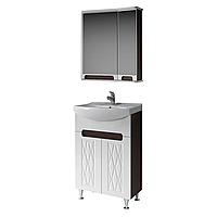 Комплект мебели для ванной комнаты Венеция 55 ( венге ) ВанЛанд