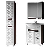 Комплект мебели для ванной комнаты Венеция 65-2 ( венге ) ВанЛанд