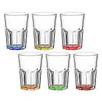 Набір склянок Bright colors New America 350мл., фото 1
