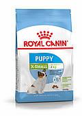 Для щенков миниатюрных пород Royal Canin X-Small Puppy, 1,5 кг, корм