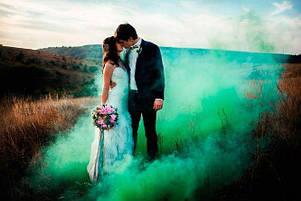 Цветной дым, ЗЕЛЕНЫЙ 60с, фото 2