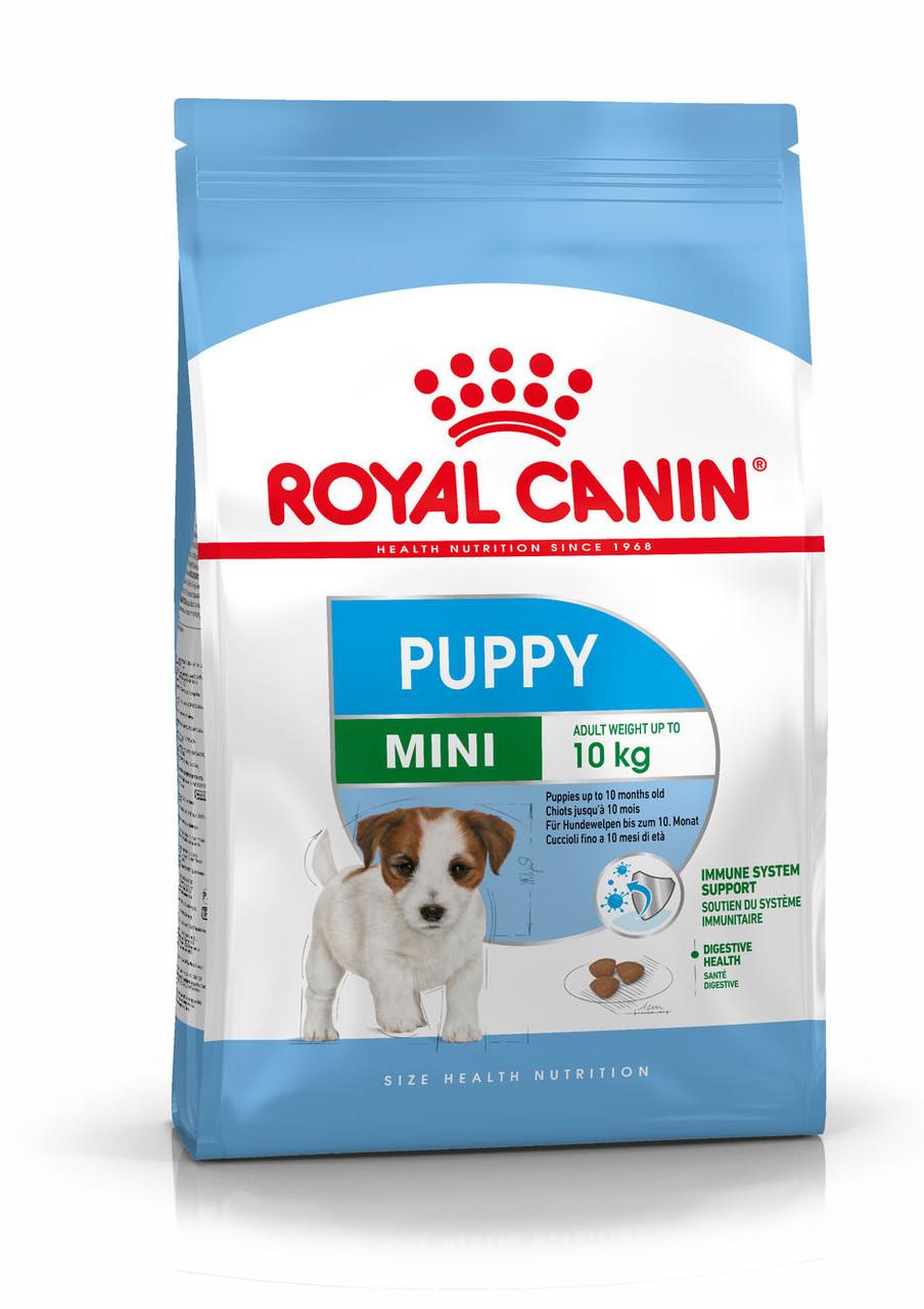 Для щенков мелких пород от 2 до 10 месяцев Royal Canin Mini Puppy, 800 г