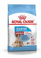 Для щенков средних пород от отъема до 2 месяцев Royal Canin Medium Starter, 12 кг