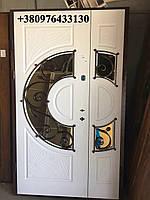 Двері вхідні з ковкою