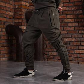"""Спортивные мужские штаны хаки """"DIAS"""""""