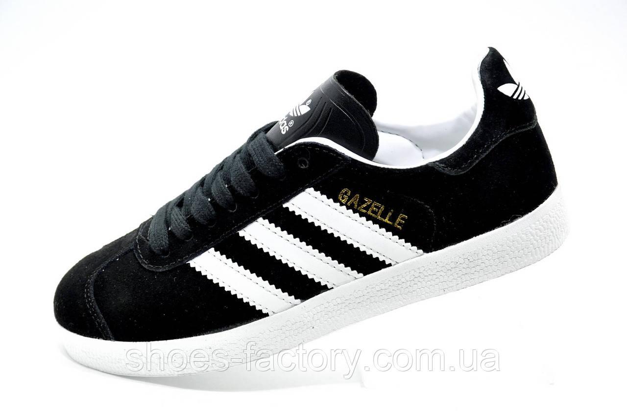 Кроссовки унисекс в стиле Adidas Gazelle OG, Black\White