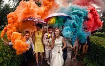 Кольоровий дим 6 кольорів (мікс) ДК-60 60с, фото 3