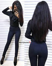 Стильные лосины джинс-стрейч. Размеры С и М, Турция