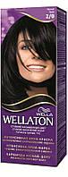 WELLATON Крем-краска д/волос стойкая 2/0 Черная