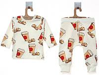 Костюм (кофта, штаны)  MOI NOI 0-3 мес (56-62 см)