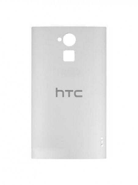 Задняя панель корпуса для смартфона HTC One Max 803n, белая