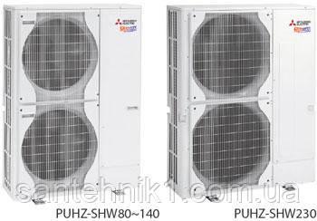 Тепловой насос Mitsubishi Electric Zubadan PUHZ-SHW80VHAR4, фото 2