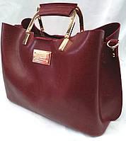 """Женская сумка, качественная """"FASHION"""", бордовая,  стильная, 059242, фото 1"""
