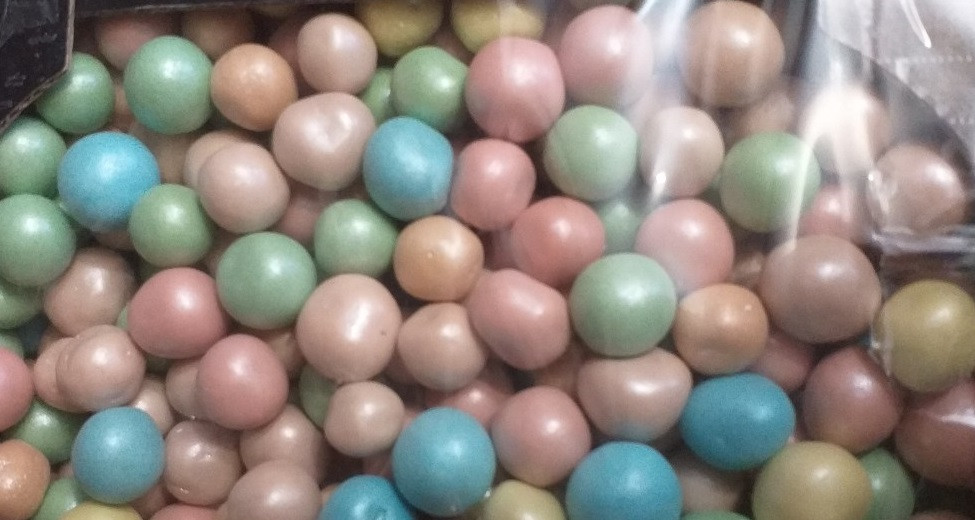 Шоколадные кукурузные шарики m&m весовые 200 грамм