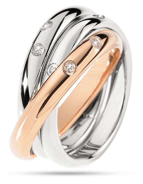 Кольца  SNA31014 LOVE RINGS RING ROSE GOLD SIZE 014