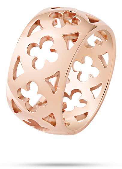 Кольца  SAAZ04014 DUCALE RING ROSE GOLD SIZE 014