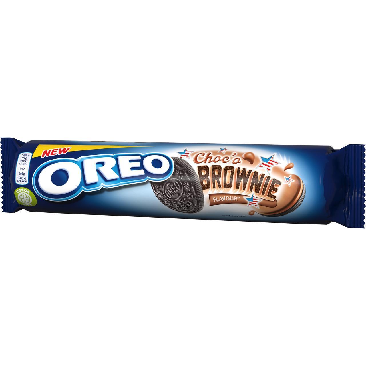 Печенье OREO Choco Brownie