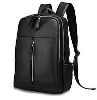 Рюкзак Tiding Bag из натуральной кожи в черном цвете B3-1692A