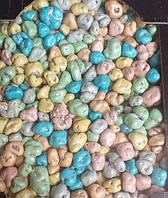 Шоколадные  M&MS камушки с дроблённам арахисом весовые 200 грамм