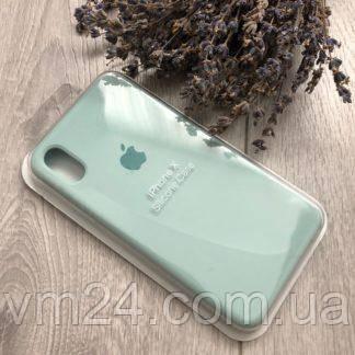Силиконовый чехол Apple Silicone Case for iPhone X Мятный Зеленый Mint