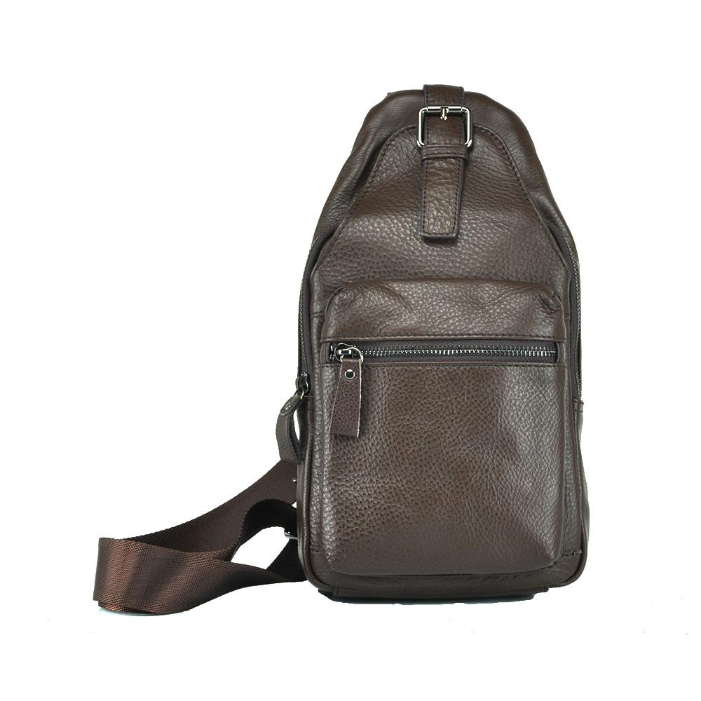 Кожаный рюкзак Tiding Bag 8809C
