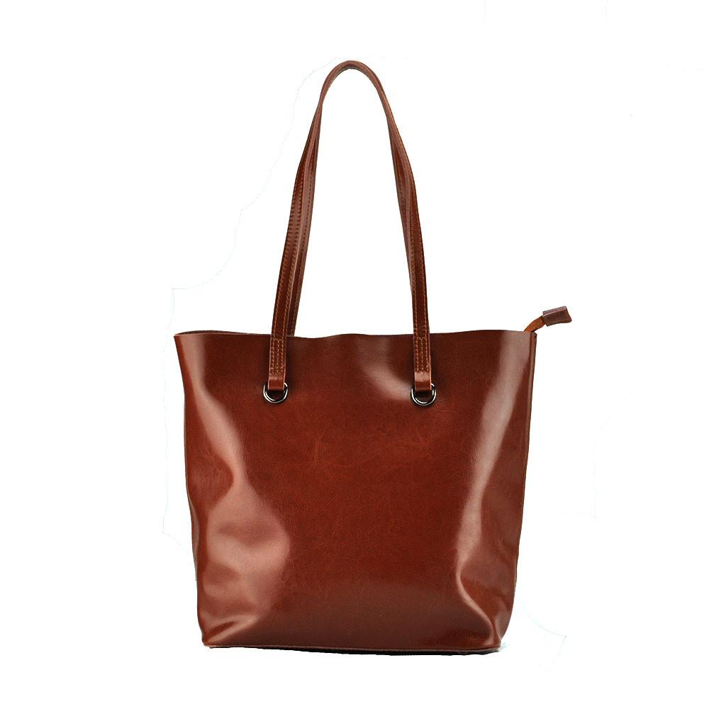 Женская сумка Grays из натуральной кожи в коричневом цвете GR-832LB