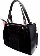 """Женская сумка, качественная """"Willow"""",  замшевая, 059181"""