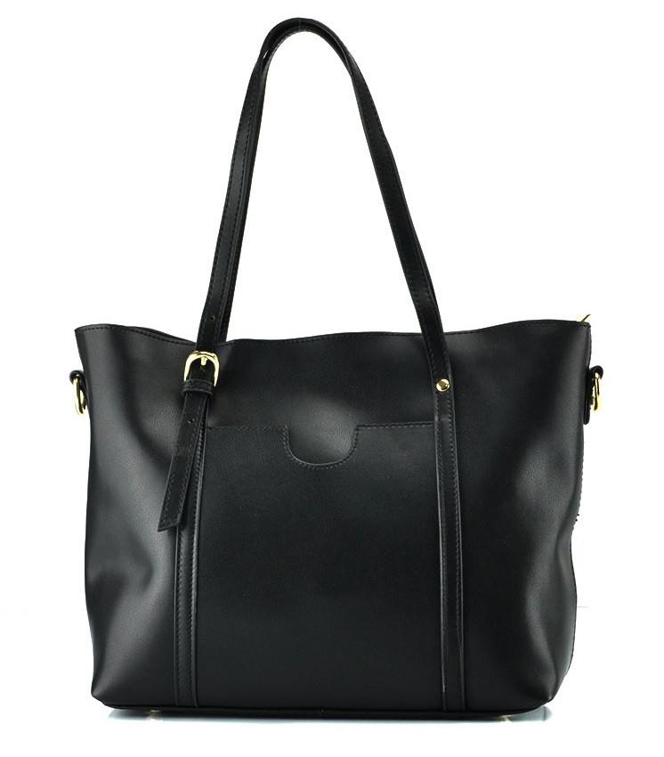 Женская сумка Grays из натуральной кожи в черном цвете GR3-172A