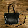 Женская сумка Grays из натуральной кожи в черном цвете GR3-172A, фото 5