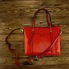Женская сумка Grays из натуральной кожи в красном цвете GR3-172R, фото 5