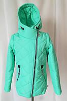 Куртки для девочек весенние от производителя 34-44 бирюзовый da337dd869d98