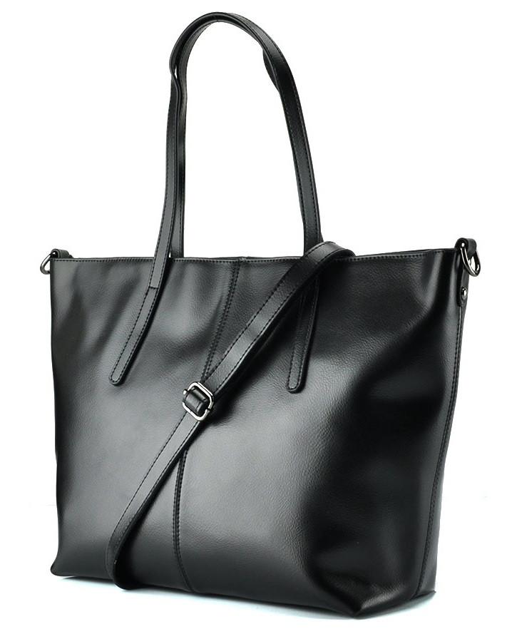 Женская сумка Grays из натуральной кожи в черном цвете GR3-8687A
