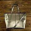 Женская сумка Grays из натуральной кожи в  серебристом цвете GR3-8687GM, фото 5