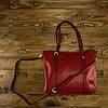 Женская сумка Grays  из натуральной кожи в бордовом цвете GR3-172BO, фото 5