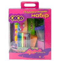 Набор подарочный 13 предметов Zibi ZB9920-10, розовый