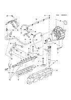 Кольцо уплотнительное топливной форсунки GM 55590468 B16DTC B16DTE B16DTH B16DTJ B16DTL B16DTN OPEL Astra-J/K, фото 1