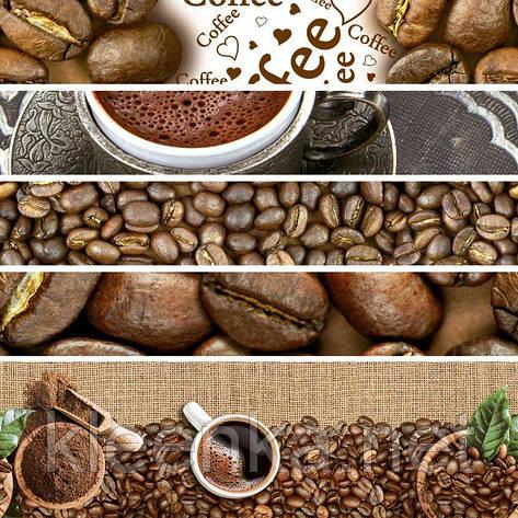 Яркая скатерть на стол с кофейной тематикой, очень эффектно смотрится!, фото 2