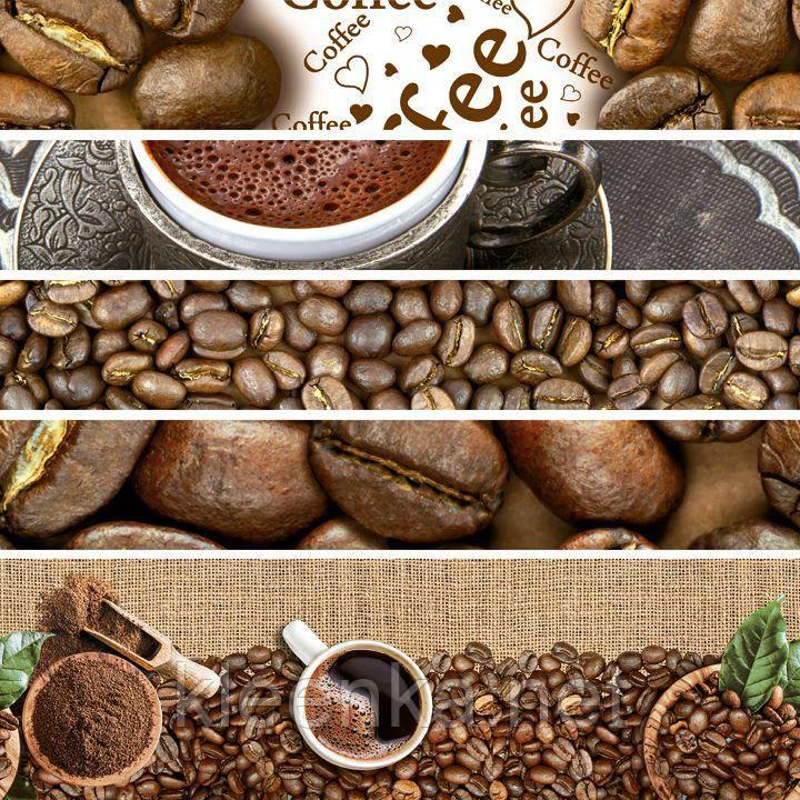 Яркая скатерть на стол с кофейной тематикой, очень эффектно смотрится!