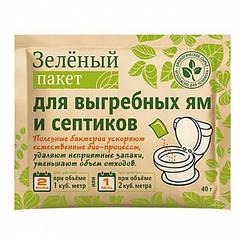"""Доктор Робик Средство выгребных ям и септиков """"Зелений пакет"""""""